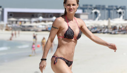 Michelle Hunziker revista Chilanga Surf