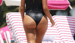 Larsa Pippen shows off her curves in Miami
